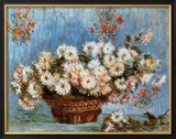 Chrysanthemums, c.1878 Posters by Claude Monet