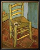 Van Gogh's Chair, c.1888 Art by Vincent van Gogh