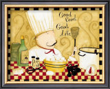 Good Food, Good Life Art by Dan Dipaolo