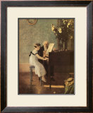The First Piano Lesson Art by Jules A. Muenier
