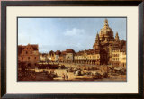 Dresden Neumarkt Prints by Bernardo Belotto