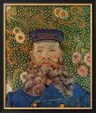 Portrait of the Postman Joseph Roulin, c.1889 Posters by Vincent van Gogh