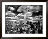 New York, New York, Sky Over Manhattan Prints by Henri Silberman