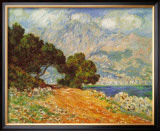Cap Martin Art by Claude Monet