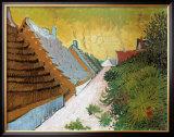 Farmhouses at Saintes-Maries, June 1888 Print by Vincent van Gogh