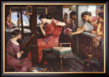 Penelope and Her Suitors Prints by John William Waterhouse