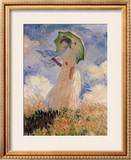 Woman With Umbrella Posters by Claude Monet