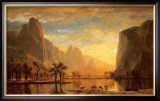 Valley of the Yosemite Prints by Albert Bierstadt