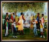 Family Reunion Art by Laverne Ross