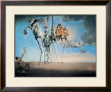 The Temptation of St. Anthony, c.1946 Print by Salvador Dalí
