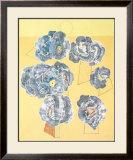 Fleurs sur Fond Jaune Posters by Max Ernst