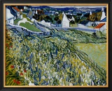 Vineyards at Auvers, c.1890 Poster by Vincent van Gogh