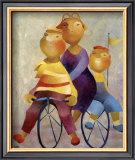The Olfts II Prints by Gisela Funke