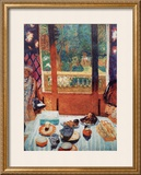 The Breakfast Room Poster by Pierre Bonnard