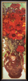Vase with Daisies and Poppies (detail) Posters by Vincent van Gogh