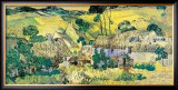 Farms near Auvers, c.1890 Posters by Vincent van Gogh