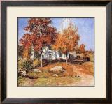 October Prints by Willard Leroy Metcalf