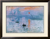 Impression Soleil Levant Poster by Claude Monet