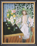 The Black Table Art by Henri Matisse