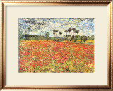 Field of Poppies, Auvers-Sur-Oise, c.1890 Print by Vincent van Gogh