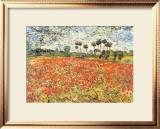 Field of Poppies, Auvers-Sur-Oise, c.1890 Print by Vincent van Gogh