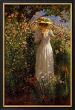 Summer's Day in the Flower Garden Poster by Robert Payton Reid