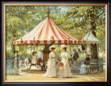 Summer Carousel Posters by Alan Maley