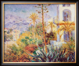 Bordighera Print by Claude Monet