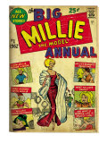 Marvel Comics Retro: Millie the Model Comic Book Cover 1, the Big Annual (aged) Prints