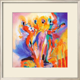 Jazz Explosion II Prints by Alfred Gockel