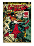 Marvel Comics Retro: The Amazing Spider-Man Comic Book Cover 123, Luke Cage - Hero for Hire (aged) Poster