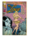 Marvel Comics Retro: My Love Comic Book Cover 2, Crying and Dancing (aged) Prints