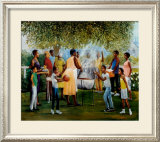 Family Reunion Poster by Laverne Ross