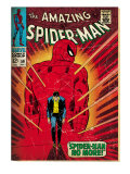 Marvel Comics Retro: The Amazing Spider-Man Comic Book Cover No.50, Spider-Man No More! (aged) Posters