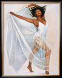 Freedom Dance Print by Laurie Cooper