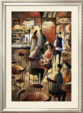 Cafe Print by Didier Lourenco
