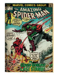 Marvel Comics Retro: The Amazing Spider-Man Comic Book Cover 122, the Green Goblin (aged) Posters