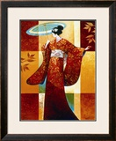 Misaki Print by Keith Mallett