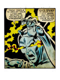 Marvel Comics Retro: Silver Surfer Comic Panel, Unleashing Power (aged) Kunstdrucke
