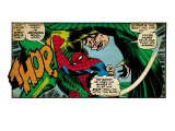 Marvel Comics Retro: The Amazing Spider-Man Comic Panel, the Vulture, Thop! (aged) Prints