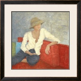 Fifties With A Point of View Print by Erica Hopper
