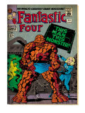 Marvel Comics Retro: Fantastic Four Family Comic Book Cover No.51 (aged) Art