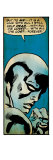 Marvel Comics Retro: Silver Surfer Comic Panel (aged) Art