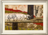 Serengeti Elephants Prints by Joseph Poirier