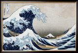 The Great Wave at Kanagawa (from 36 views of Mount Fuji), c.1829 Posters by Katsushika Hokusai