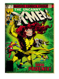 Marvel Comics Retro: The X-Men Comic Book Cover No.135, Phoenix (aged) Prints