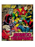 Marvel Comics Retro: X-Men Comic Panel (aged) Poster