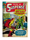 Marvel Comics Retro: The Invincible Iron Man Comic Book Cover No.51, Suspense (aged) Posters