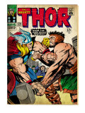 Marvel Comics Retro: The Mighty Thor Comic Book Cover 126, Hercules (aged) Poster