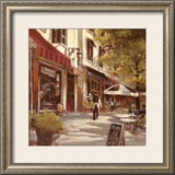 Boulevard Cafe Posters by Brent Heighton